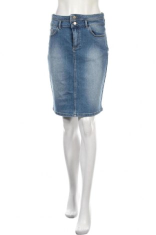 Sukně Kaffe, Velikost M, Barva Modrá, 98% bavlna, 2% elastan, Cena  330,00Kč