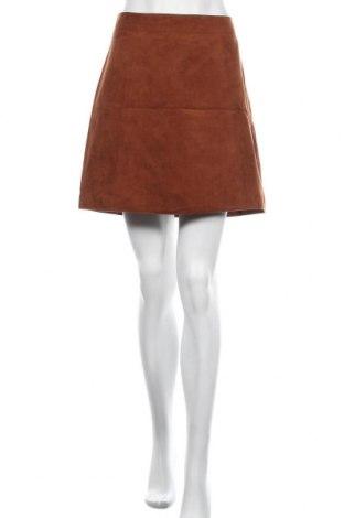 Пола Orsay, Размер M, Цвят Кафяв, Полиестер, Цена 6,04лв.