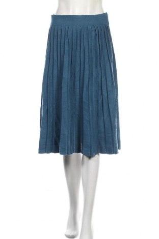 Sukně Smile, Velikost XL, Barva Modrá, 55% viskóza, 27% polyester, 18% polyamide, Cena  306,00Kč