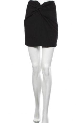 Пола Zara, Размер S, Цвят Черен, 49% полиестер, 48% вискоза, 3% еластан, Цена 40,50лв.