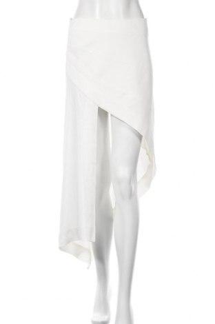 Sukně Zara, Velikost S, Barva Bílá, Viskóza, Cena  566,00Kč
