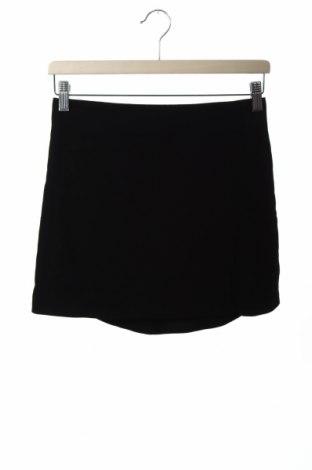 Пола Zara, Размер XS, Цвят Черен, Полиестер, Цена 36,75лв.