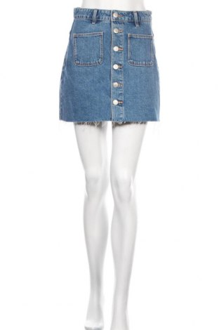 Sukně Zara, Velikost S, Barva Modrá, Bavlna, Cena  431,00Kč