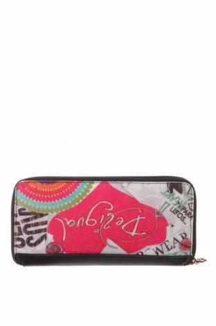 Πορτοφόλι Desigual, Χρώμα Πολύχρωμο, Κλωστοϋφαντουργικά προϊόντα, δερματίνη, Τιμή 30,54€