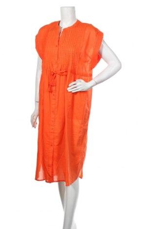 Šaty  Culture, Velikost M, Barva Oranžová, Bavlna, Cena  258,00Kč