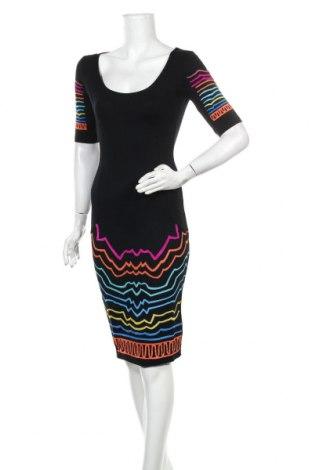 Φόρεμα Desigual, Μέγεθος S, Χρώμα Μαύρο, 78% βισκόζη, 17% πολυαμίδη, 5% ελαστάνη, Τιμή 45,08€