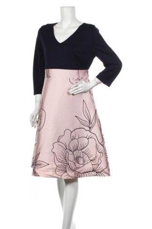 Šaty  Heine, Velikost L, Barva Popelavě růžová, 77% polyester, 20% viskóza, 3% elastan, Cena  526,00Kč