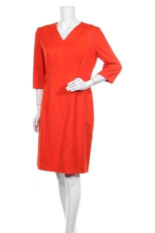 Šaty  Hugo Boss, Velikost L, Barva Červená, 99% vlna, 1% elastan, Cena  2168,00Kč