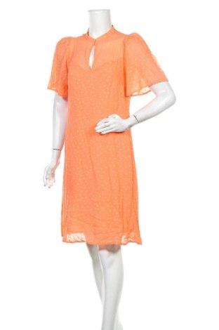 Рокля In Wear, Размер S, Цвят Оранжев, Вискоза, Цена 47,40лв.