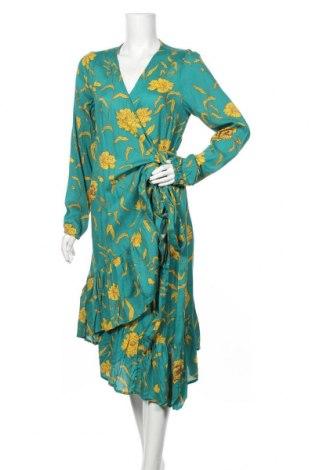 Φόρεμα Kaffe, Μέγεθος M, Χρώμα Μπλέ, Βισκόζη, Τιμή 49,87€