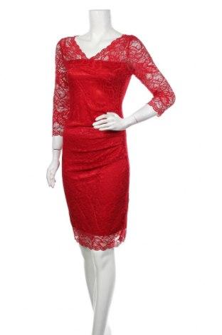 Φόρεμα Kaffe, Μέγεθος S, Χρώμα Κόκκινο, 90% πολυαμίδη, 10% ελαστάνη, Τιμή 30,72€