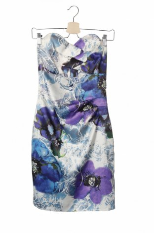 Рокля Karen Millen, Размер M, Цвят Многоцветен, 98% полиамид, 2% памук, Цена 72,80лв.