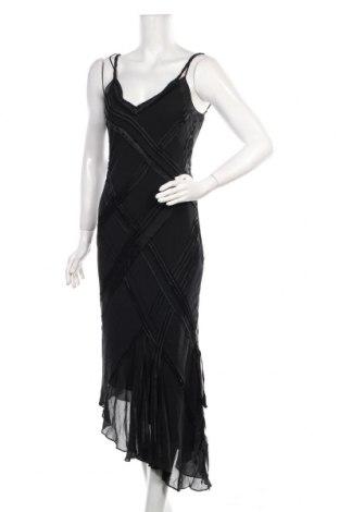 Рокля Karen Millen, Размер S, Цвят Черен, Коприна, Цена 57,85лв.