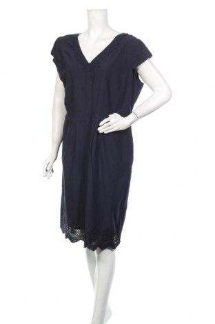 Φόρεμα S.Oliver, Μέγεθος XL, Χρώμα Μπλέ, Βαμβάκι, Τιμή 25,23€