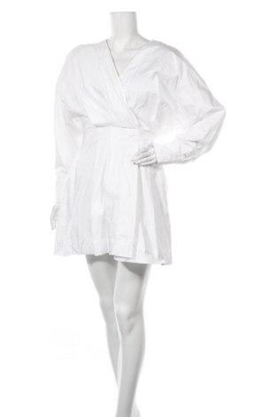 Φόρεμα Zara, Μέγεθος L, Χρώμα Λευκό, Βαμβάκι, Τιμή 20,88€