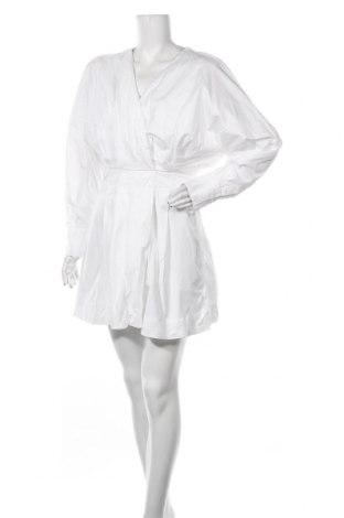 Φόρεμα Zara, Μέγεθος L, Χρώμα Λευκό, Βαμβάκι, Τιμή 9,74€