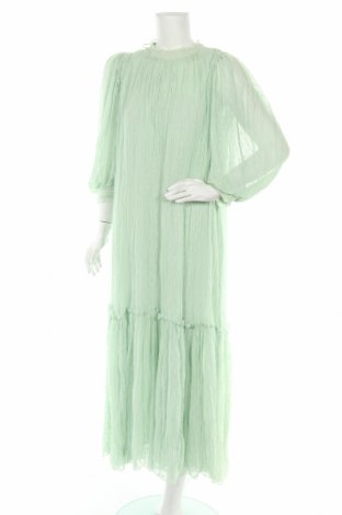 Rochie Zara, Mărime M, Culoare Verde, Poliester, Preț 155,00 Lei