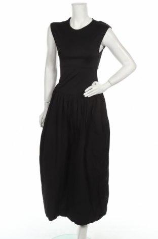 Φόρεμα Zara, Μέγεθος M, Χρώμα Μαύρο, 53% βισκόζη, 47% βαμβάκι, Τιμή 21,65€