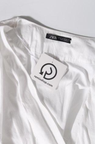Φόρεμα Zara, Μέγεθος M, Χρώμα Λευκό, Βαμβάκι, Τιμή 9,74€