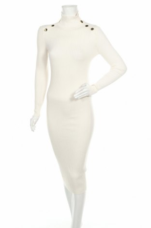 Rochie Zara, Mărime M, Culoare Alb, 67% viscoză, 33% poliamidă, Preț 182,57 Lei