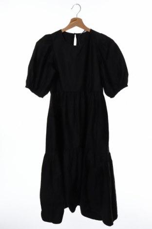 Φόρεμα Zara, Μέγεθος XS, Χρώμα Μαύρο, Βαμβάκι, Τιμή 20,42€