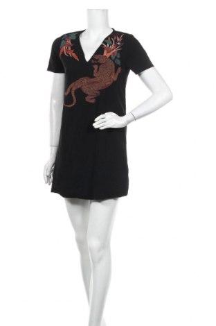 Φόρεμα Zara, Μέγεθος S, Χρώμα Μαύρο, 97% πολυεστέρας, 3% ελαστάνη, Τιμή 17,63€