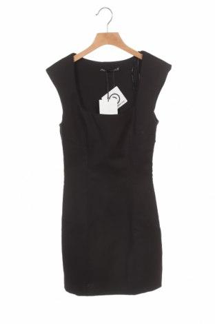 Рокля Zara, Размер XS, Цвят Черен, 53% памук, 44% полиестер, 3% еластан, Цена 24,15лв.