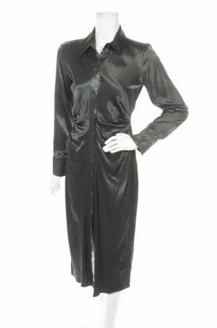 Šaty  Zara, Velikost S, Barva Zelená, 95% viskóza, 5% elastan, Cena  607,00Kč