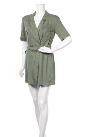 Рокля Zara, Размер S, Цвят Зелен, Лиосел, Цена 24,15лв.