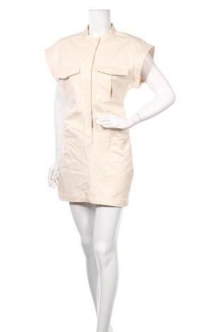 Φόρεμα Zara, Μέγεθος M, Χρώμα  Μπέζ, 98% βαμβάκι, 2% ελαστάνη, Τιμή 12,45€