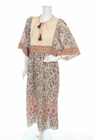 Φόρεμα Zara, Μέγεθος L, Χρώμα Πολύχρωμο, Βαμβάκι, Τιμή 30,54€
