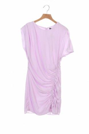 Φόρεμα Zara, Μέγεθος XS, Χρώμα Βιολετί, Πολυεστέρας, Τιμή 10,64€