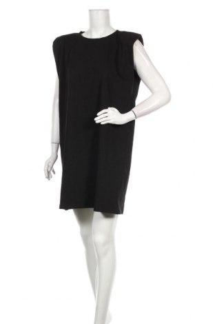 Рокля Zara, Размер L, Цвят Черен, Памук, Цена 20,65лв.