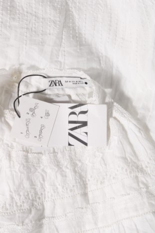 Φόρεμα Zara, Μέγεθος M, Χρώμα Λευκό, Βαμβάκι, Τιμή 30,54€