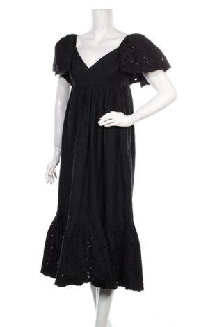 Rochie Zara, Mărime S, Culoare Negru, Bumbac, Preț 129,73 Lei
