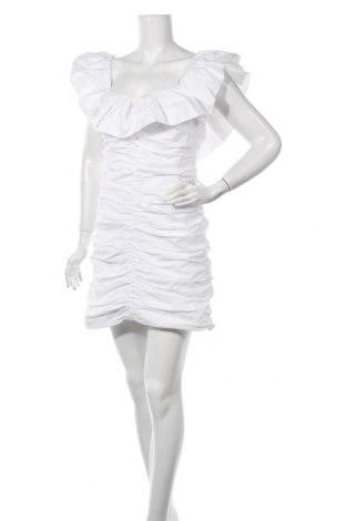 Рокля Zara, Размер L, Цвят Бял, Полиестер, Цена 32,45лв.