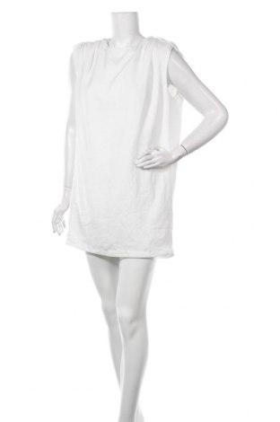 Рокля Zara, Размер M, Цвят Бял, Полиестер, Цена 20,65лв.