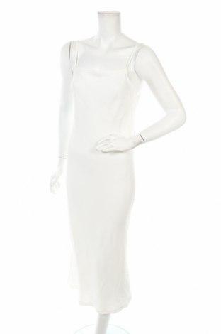 Рокля Zara, Размер XS, Цвят Бял, 67% ацетат, 33% вискоза, Цена 74,25лв.