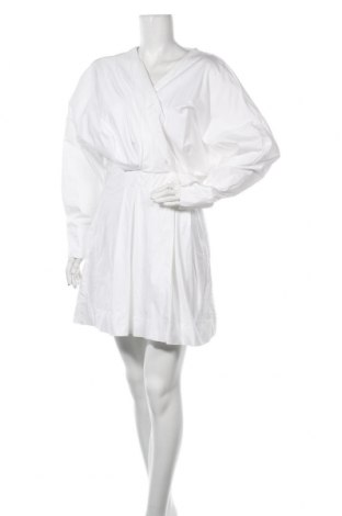 Рокля Zara, Размер XL, Цвят Бял, Памук, Цена 28,32лв.