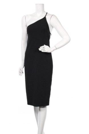 Рокля Zara, Размер M, Цвят Черен, 93% полиестер, 7% еластан, Цена 27,65лв.