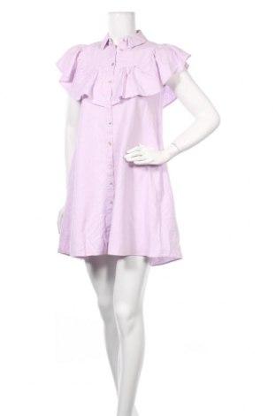 Φόρεμα Zara, Μέγεθος S, Χρώμα Βιολετί, 53% λινό, 47% βαμβάκι, Τιμή 14,25€