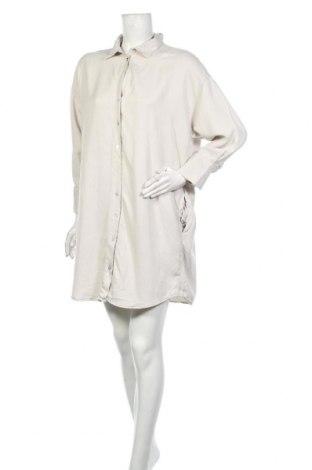 Рокля Zara, Размер M, Цвят Сив, Лиосел, Цена 28,60лв.