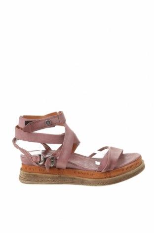 Sandale A.S. 98, Mărime 40, Culoare Roz, Piele naturală, Preț 202,31 Lei