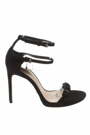 Sandály Massimo Dutti, Velikost 39, Barva Černá, Textile , Cena  1722,00Kč
