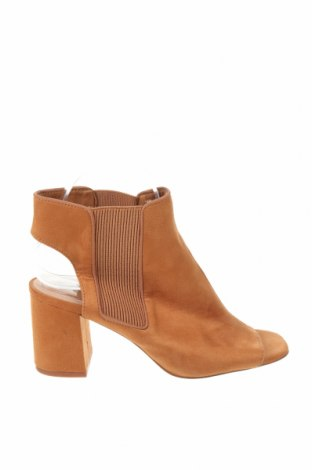 Sandály Stradivarius, Velikost 38, Barva Hnědá, Textile , Cena  609,00Kč