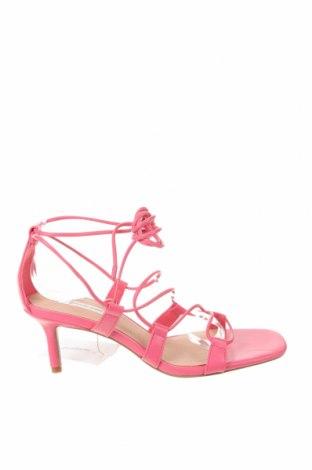 Sandály Stradivarius, Velikost 37, Barva Růžová, Eko kůže, Cena  641,00Kč