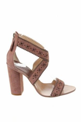 Σανδάλια Zara, Μέγεθος 37, Χρώμα Ρόζ , Κλωστοϋφαντουργικά προϊόντα, Τιμή 25,98€