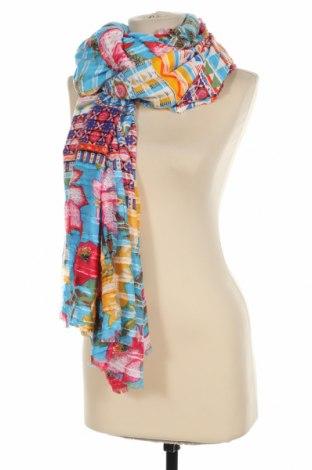 Κασκόλ Desigual, Χρώμα Πολύχρωμο, Βισκόζη, Τιμή 22,81€