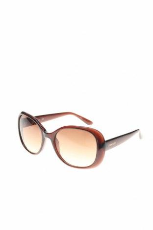 Слънчеви очила Calvin Klein, Цвят Кафяв, Цена 141,75лв.