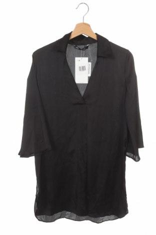 Tunică Zara, Mărime XS, Culoare Negru, Poliester, Preț 18,38 Lei